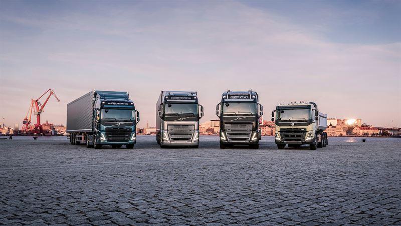 Новата тежка гама на Volvo Trucks идва