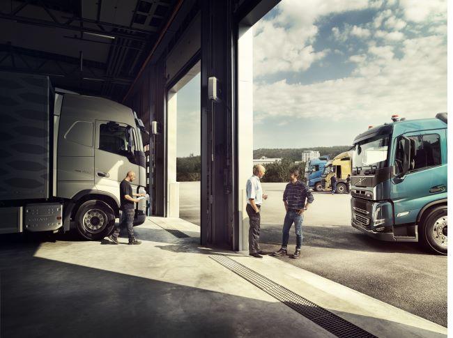 Тук за теб от Volvo Trucks България