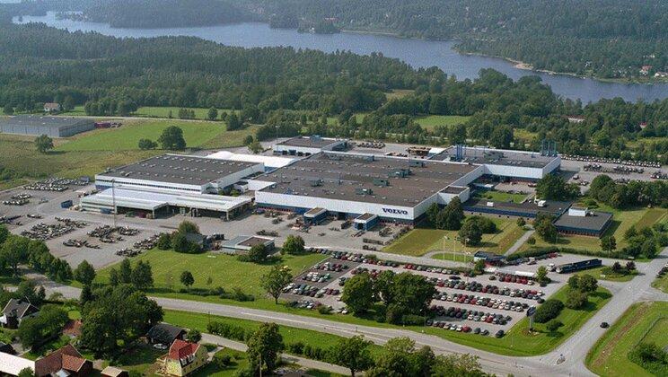 Завод на Volvo Buses работи с възобновяема енергия