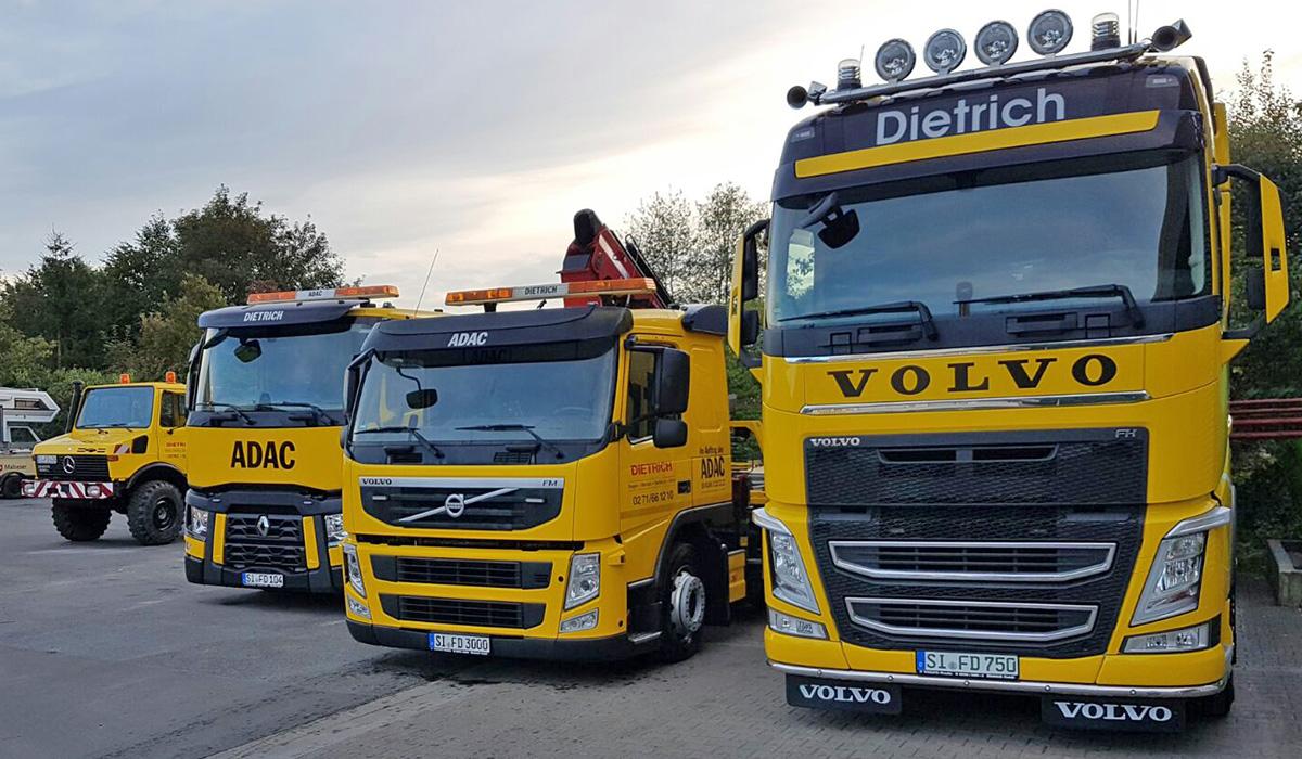 ADAC с отстъпка за обслужване на камиони