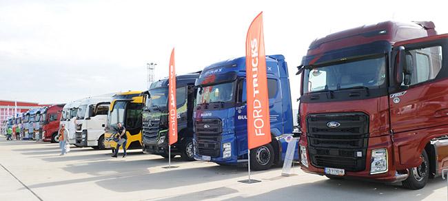 624 нови тежки камиони за първото тримесечие