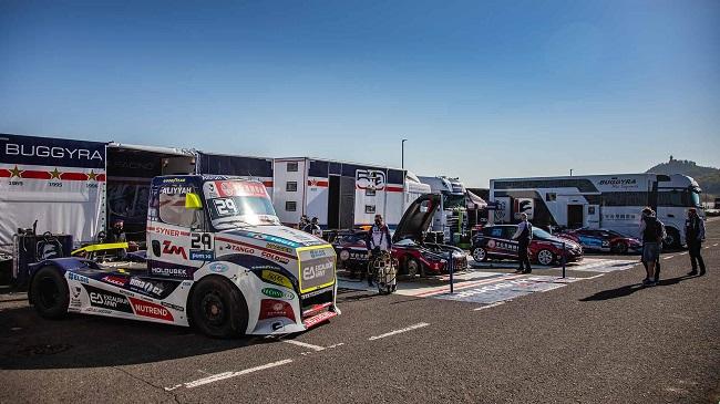 Buggyra Racing проведе тестове на пистата Мост