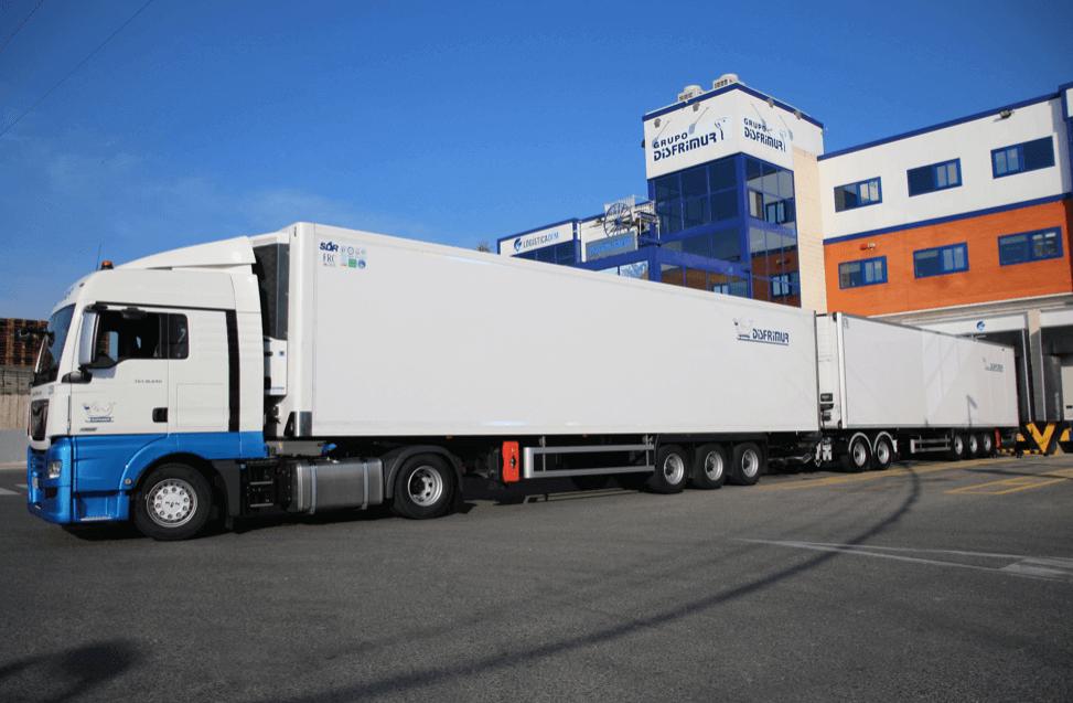 Хладилен камион за 66 евро палети тестват в Испания