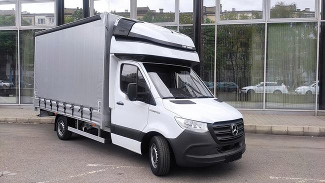 Mercedes-Benz Sprinter - за международен транспорт