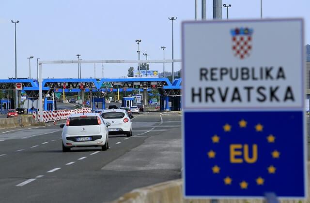 Въведени мерки за влизане и излизане от Хърватия