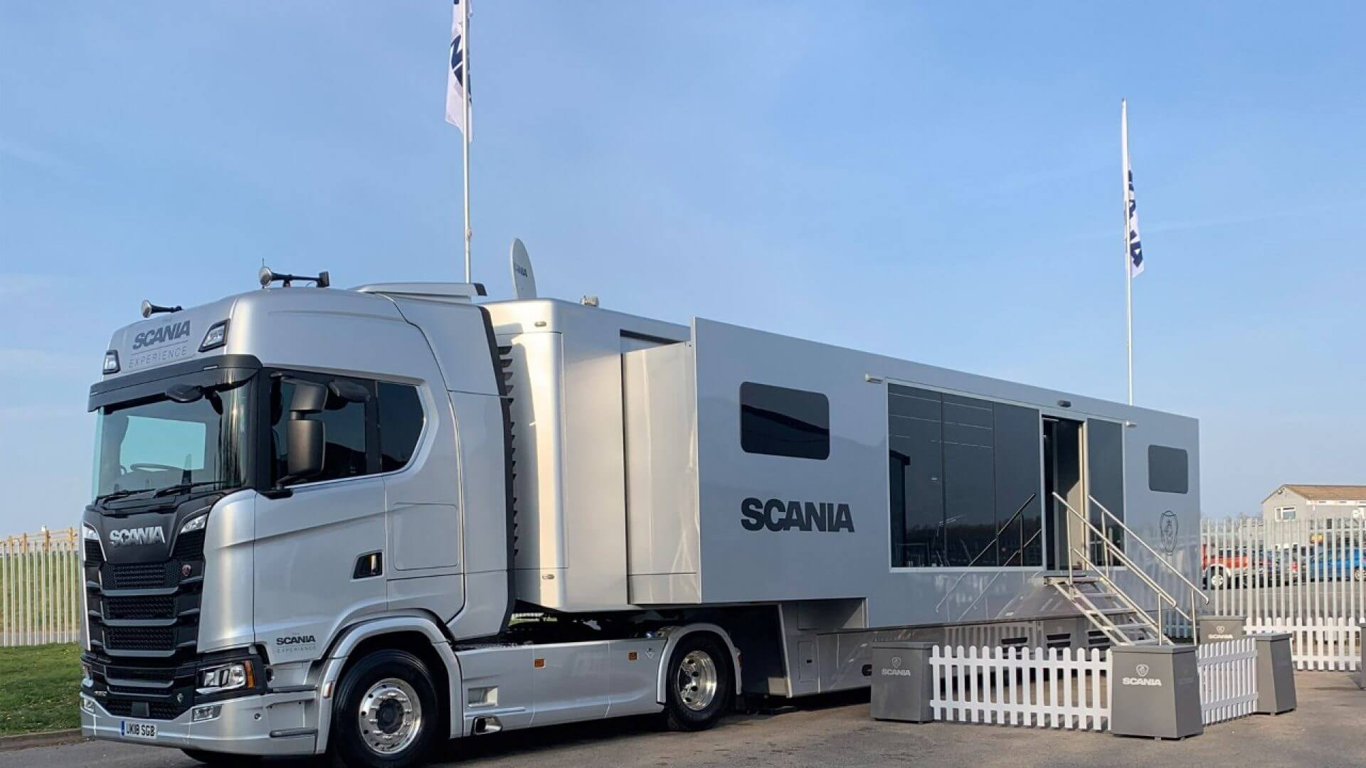 На крайпътно кафе със Scania