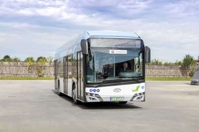 Виена тества автобус на водород от Solaris