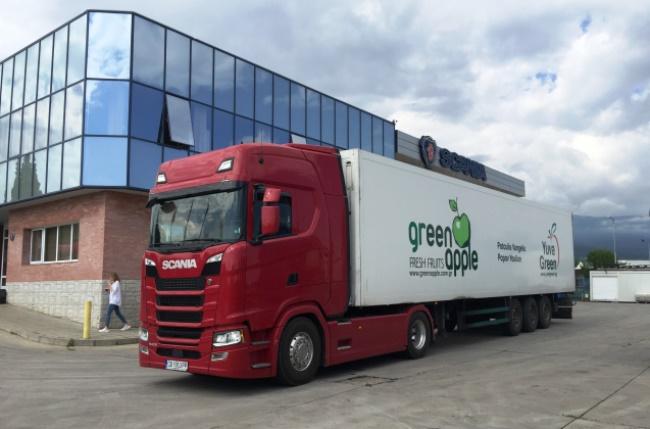 Видео - Тест на Scania 540 S