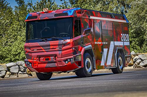 Volvo Penta с ново електрическо задвижване за противопожарни камиони