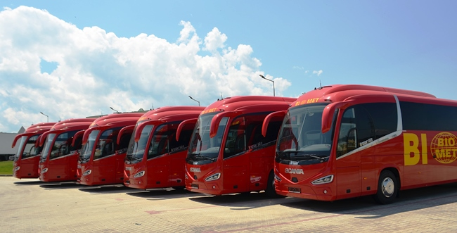 117 нови автобуса са регистрирани в България през 2020 г.