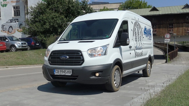 Тест: Ford Transit 4х4