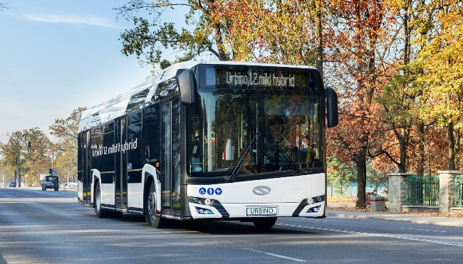 Solaris пуска Urbino мек хибрид