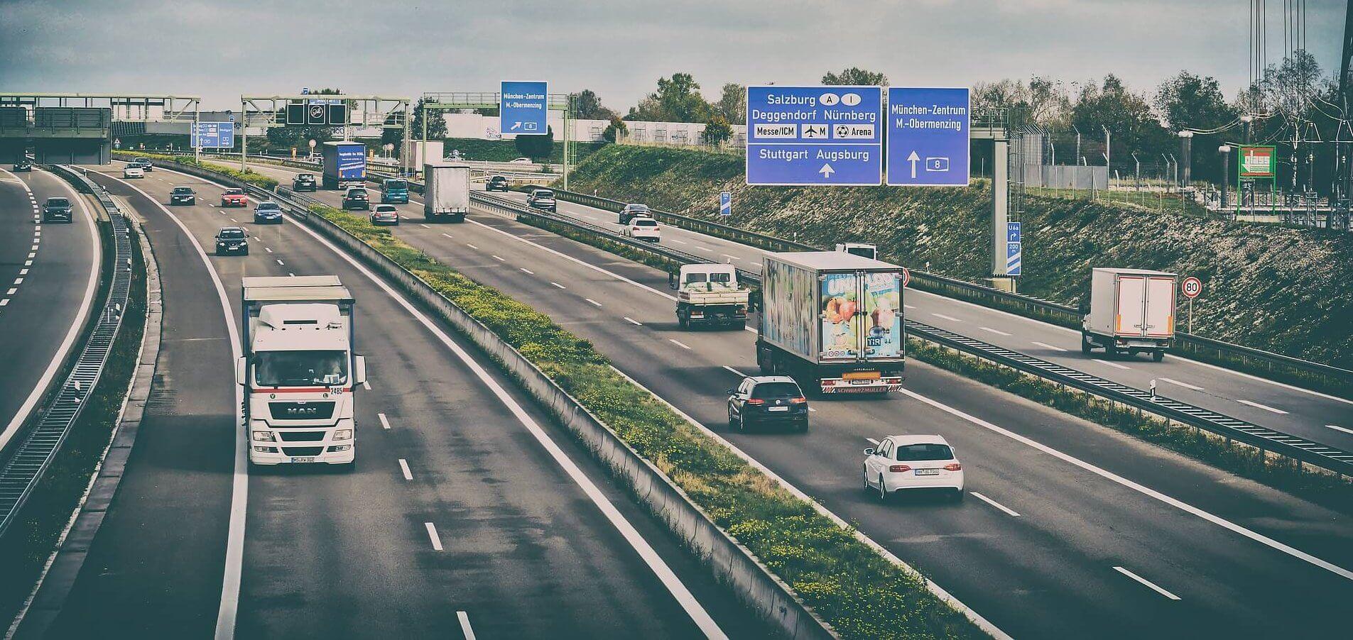 Повече камиони са се движили в Германия през август