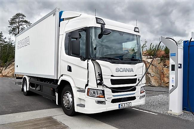 Видео - Scania представя гамата си от електрически камиони