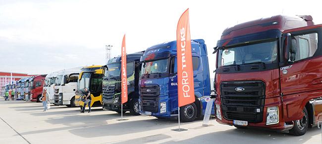 1204 нови камиони за първите 8 месеца на 2020-а
