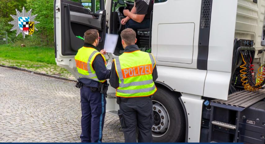 Германската полиция хвана български камион с манипулиран тахограф