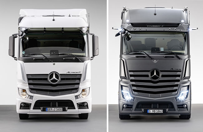 Mercedes-Benz представи два нови модела - Actros F и Actros Edition 2