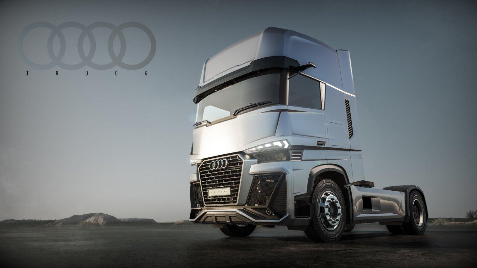 Как би изглеждал един камион на Audi