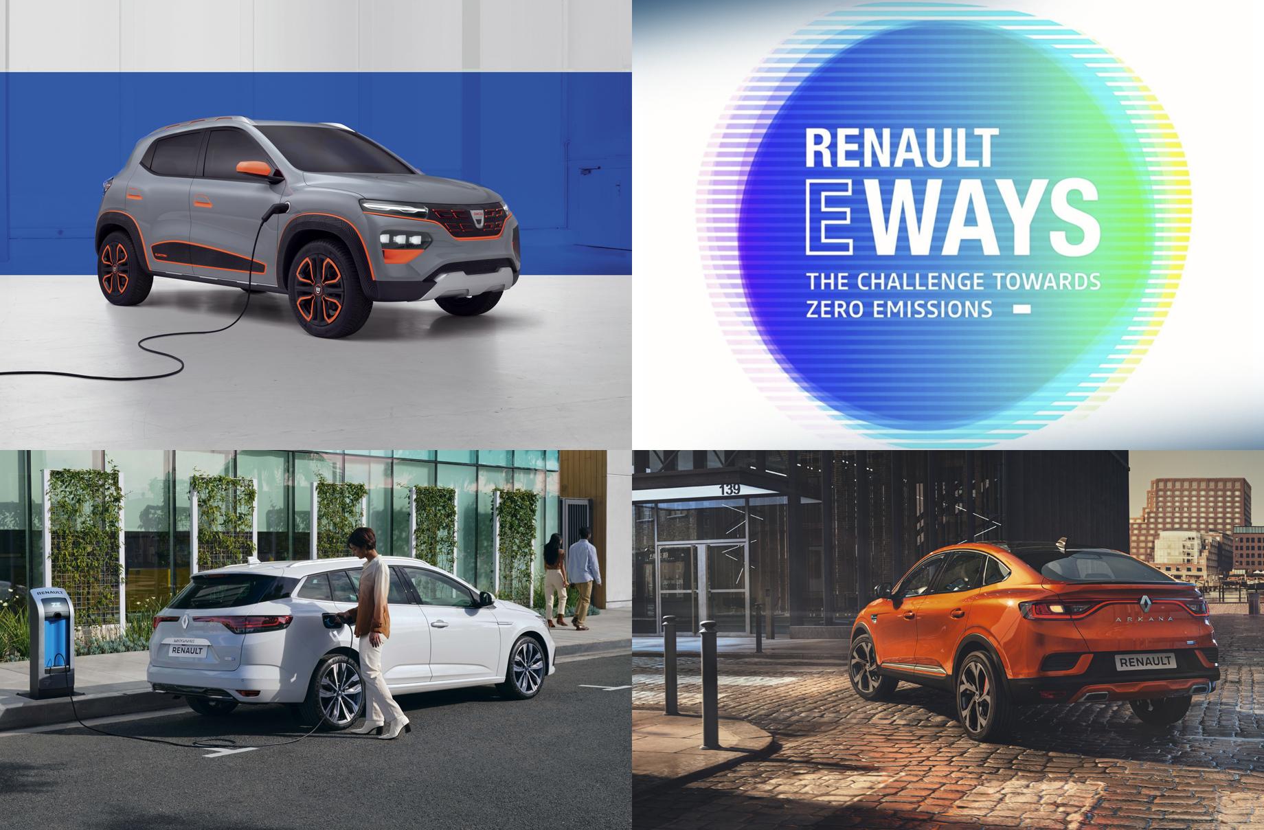 Renault eWays e посветено на електрическата мобилност