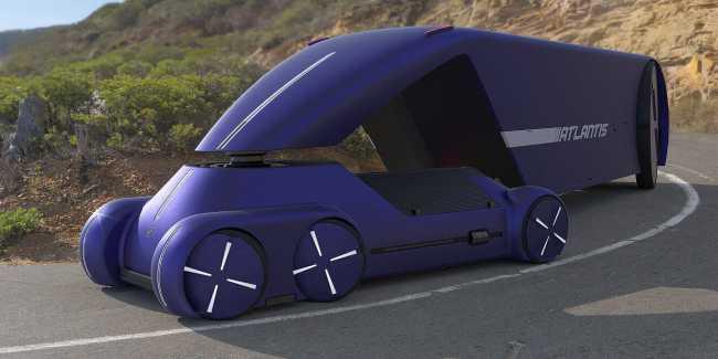 Atlantis е концепция за руски автономен камион