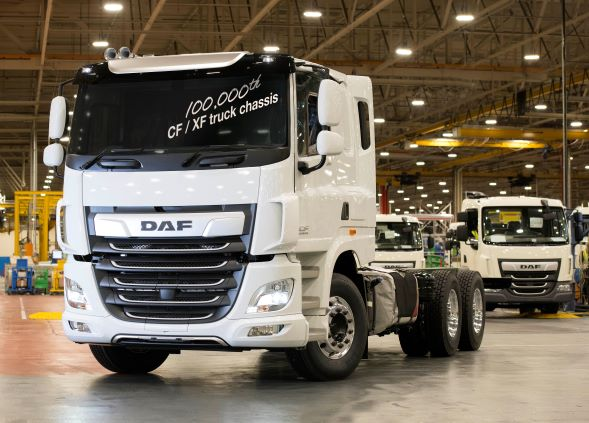 Leyland Trucks направи 100-хилядния камион DAF CF/XF