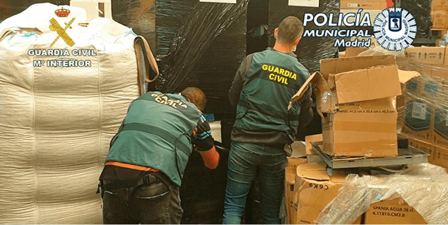 Испанската полиция разби банда крадци на карго
