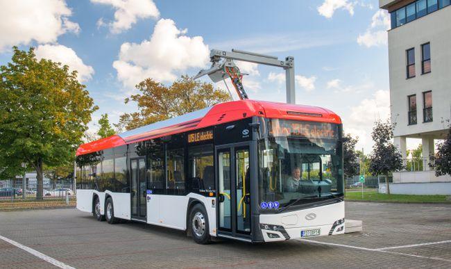 Solaris представи Urbino 15 LE electric