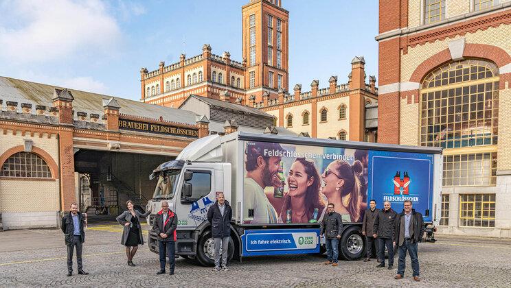 Renault Trucks и Carlsberg Group заедно за транспорт без емисии
