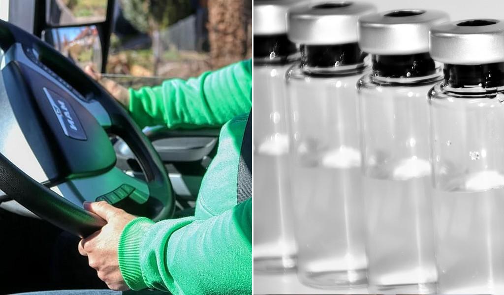 В Дания искат шофьорите на камиони да са с приоритет за ваксините срещу COVID-19