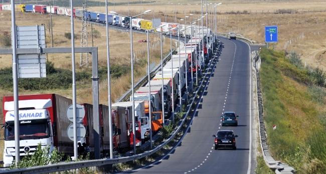 Български и турски превозвачи протестират на границата