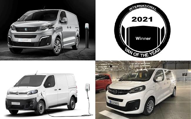 Триото на PSA - с наградата Ван на годината 2021!