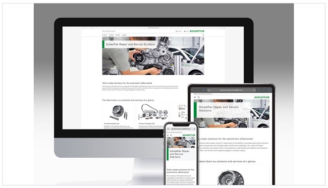 Нов уебсайт на Schaeffler Automotive Aftermarket