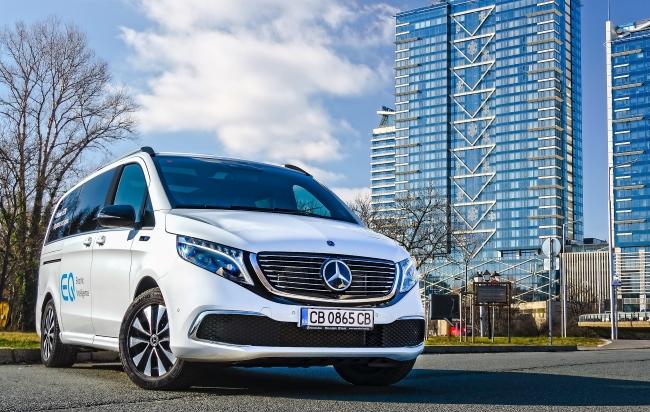 Електрическата гама на Mercedes-Benz навлиза в България