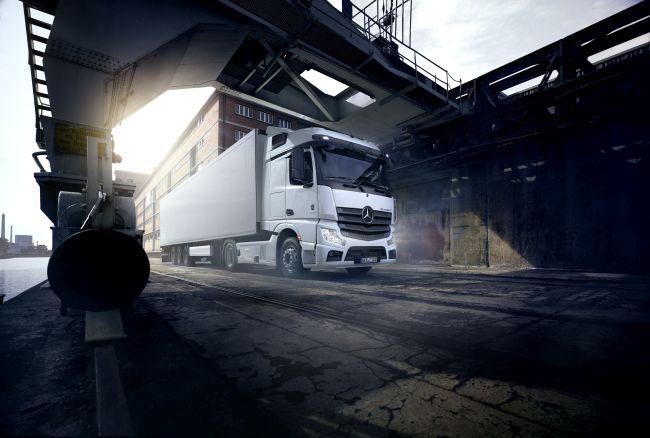 Actros F. Решението на Mercedes-Benz Trucks за флийт клиенти