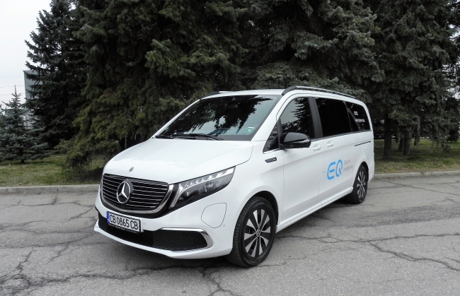 Видео - Тест на Mercedes-Benz EQV300