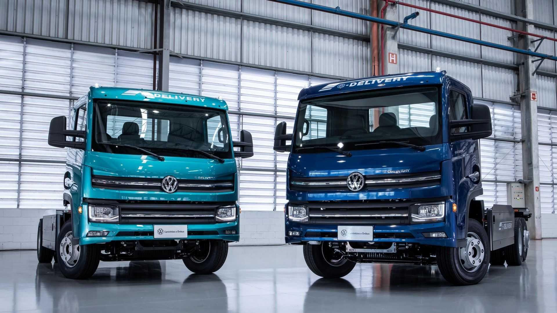 Volkswagen представи първия си електрически камион