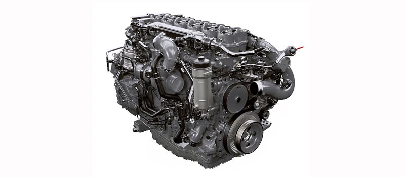 Scania с нов 13-литров газов двигател за автобуси