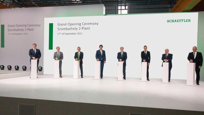 Schaeffler откри в Унгария предприятие за компоненти за електромобилност