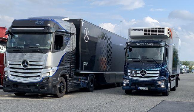 Mercedes-Benz Trucks за бъдещето: Електричество, горивни клетки и водород