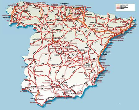 Забрани за движение на товарни автомобили в Испания през 2013 г.