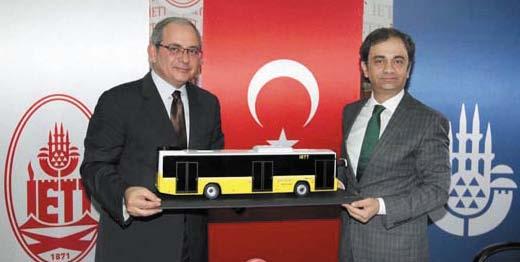 750 Otokar Kent за Истанбул