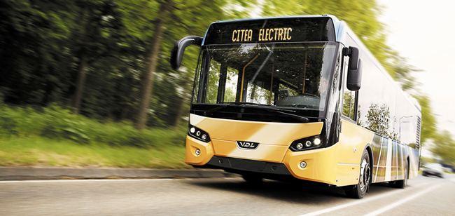 Световна премиера на VDL Citea Electric