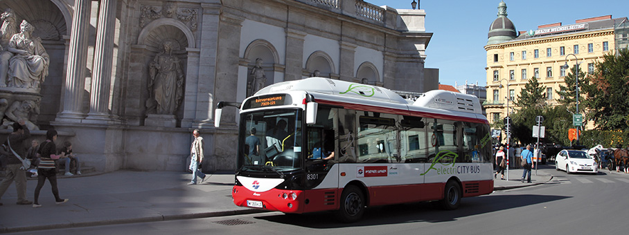 Виена с нови електрически автобуси