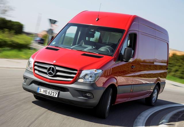 Новият Mercedes Sprinter: първи тест в реални условия