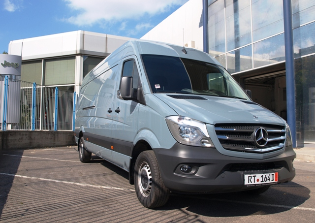 Новият Mercedes Sprinter пристигна в България