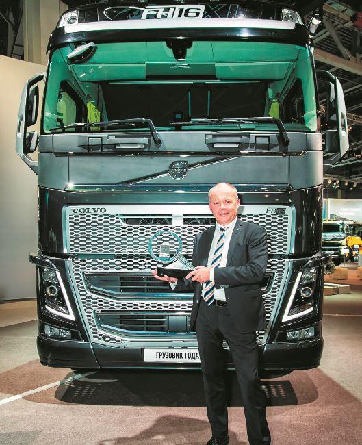 Новият VOLVO FH е Камион на 2014 година