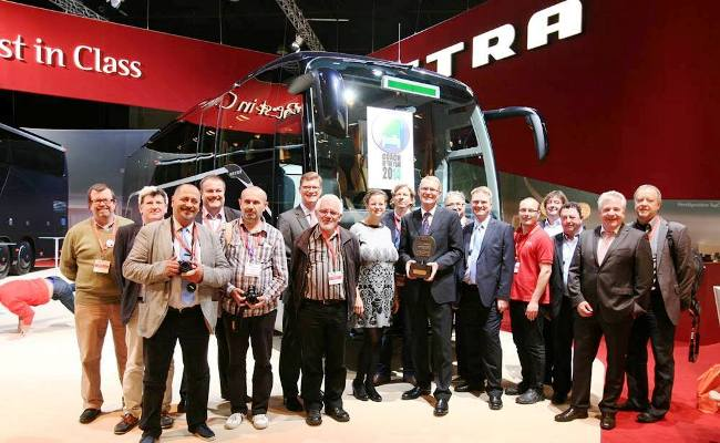 Setra ComfortClass получи наградата Coach of The Year 2014